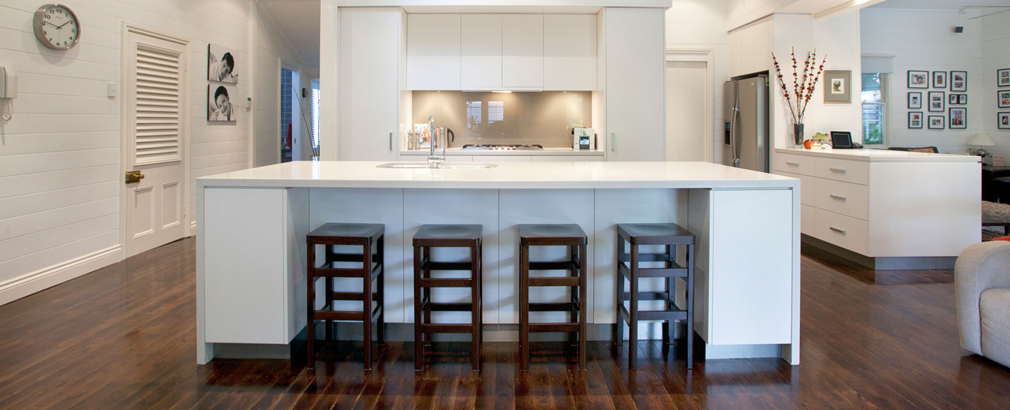 Custom made joinery brisbane interior joinery custom for Kitchen and bath design