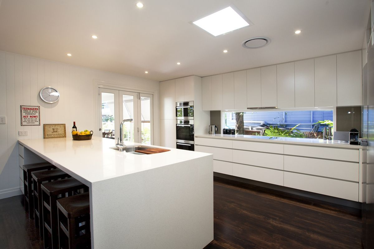 contemporary kitchens with white cabinets graceville luxury kitchen by makings of kitchens 13836