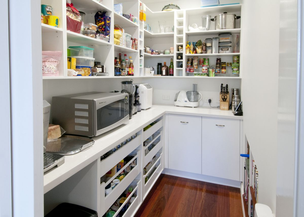 Grange kitchen makings of fine kitchens brisbane for Kitchen plans with island and pantry