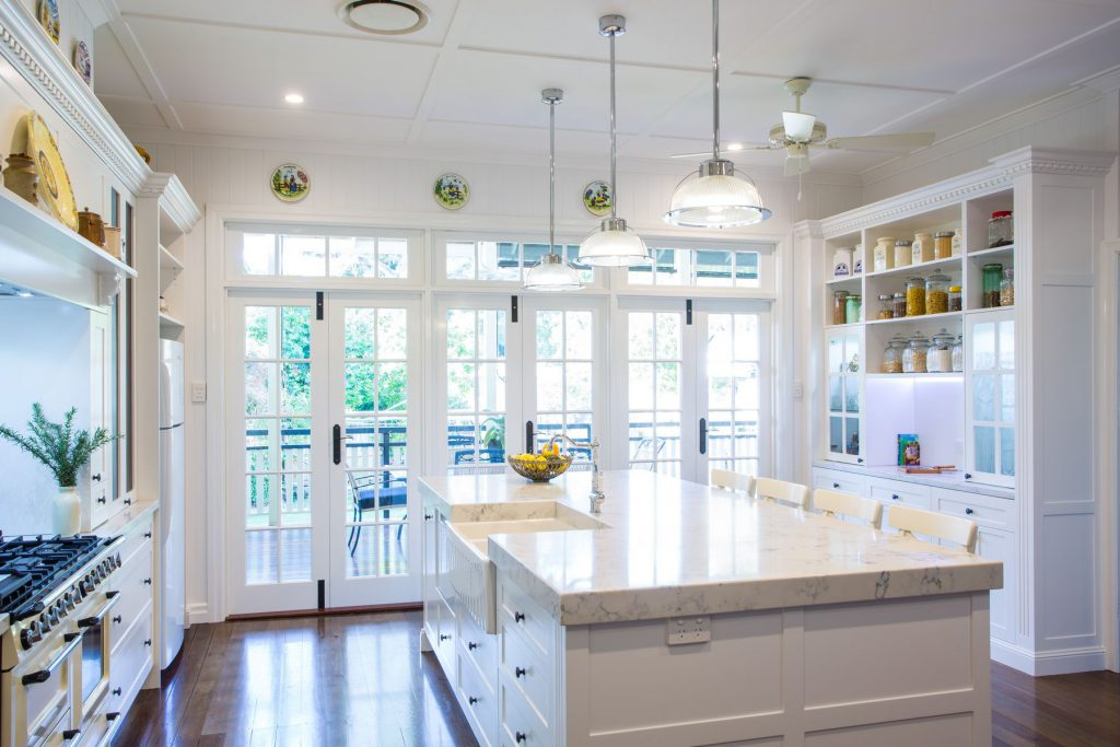 Farmhouse Bench Kitchen